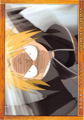 Fullmetal Alchemist Trading Card - Carddass Masters Part 2: 71 Story Card: Episode 26 Her Reason (Edward Elric) - Cherden's Doujinshi Shop - 1