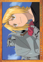 Fullmetal Alchemist Trading Card - Carddass Masters Part 2: 74 Story Card: Episode 28 All is One One is All (Al x Ed) - Cherden's Doujinshi Shop - 1
