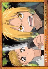 Fullmetal Alchemist Trading Card - Carddass Masters Part 2: 75 Story Card: Episode 28 All is One One is All (Al x Ed) - Cherden's Doujinshi Shop - 1