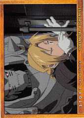 Fullmetal Alchemist Trading Card - Carddass Masters Part 2: 77 Story Card: Episode 29 The Untainted Child (Al x Ed) - Cherden's Doujinshi Shop - 1