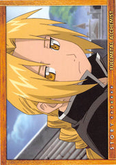 Fullmetal Alchemist Trading Card - Carddass Masters Part 2: 78 Story Card: Episode 30 Assault on South Headquarters (Edward Elric) - Cherden's Doujinshi Shop - 1