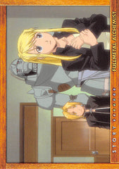 Fullmetal Alchemist Trading Card - Carddass Masters Part 2: 79 Story Card: Episode 30 Assault on South Headquarters (Edward Elric) - Cherden's Doujinshi Shop - 1