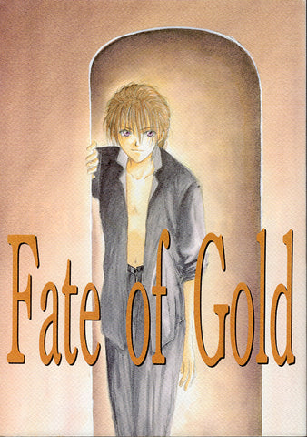 Gundam Wing Doujinshi - Fate of Gold (Duo x Heero) - Cherden's Doujinshi Shop - 1