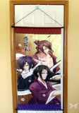 Hakuoki:  Demon of the Fleeting Blossom Poster - Taito Kuji Prize Big Tapestry: Okita Saito Hijikata (Hijikata Saito and Okita) - Cherden's Doujinshi Shop  - 2