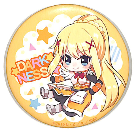 Give Blessings to This Wonderful World! Pin - Hoppins Legend of Crimson Can Badge Darkness (Dustiness Ford Lalatina) (Darkness) - Cherden's Doujinshi Shop - 1