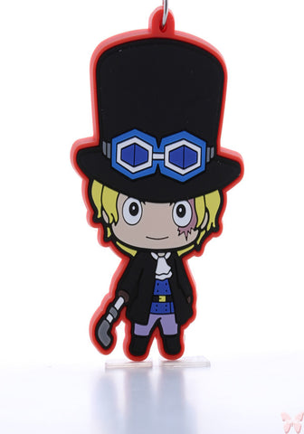 One Piece Strap - Tokyo One Piece Tower Rubber Strap: Sabo (Sabo) - Cherden's Doujinshi Shop  - 1