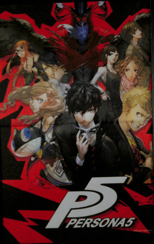 Persona 5 Cloth - 11.75w x 16.25h (inches) Microfiber Cloth (Cast) (JOKER) - Cherden's Doujinshi Shop - 1