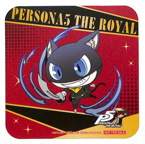 Persona 5 Coaster - Sega Collabo Cafe Part 2 Morgana Chibi Version Coaster (Morgana) - Cherden's Doujinshi Shop - 1
