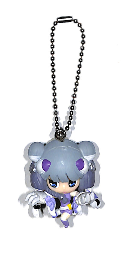 Puzzle and Dragons Charm - SD Godfest Edition Swing DX: Incarnation of Byakko Haku Figure (Incarnation of Byakko Haku) - Cherden's Doujinshi Shop - 1