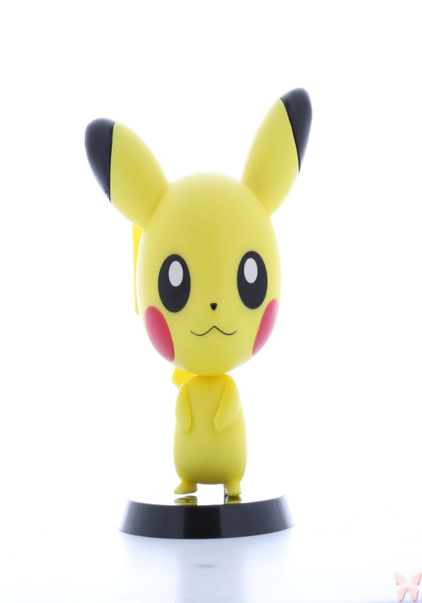 Pokemon Figurine - Ichiban Kuji Pocket Monsters Best Wishes Chibikyun Chara World Prize H Pikachu (Pikachu) - Cherden's Doujinshi Shop  - 1