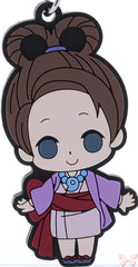Ace Attorney Series:  Phoenix Wright (Gyakuten Saiban) Strap - chipicco Gyakuten Saiban Objection to that Truth! Trading Rubber Strap: Pearl Fey (Pearl Fey) - Cherden's Doujinshi Shop - 1