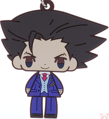 Ace Attorney Series:  Phoenix Wright (Gyakuten Saiban) Strap - Gyakuten Saiban 6 Koedarize R Rubber Strap Collection: Phoenix Wright (Phoenix Wright) - Cherden's Doujinshi Shop - 1
