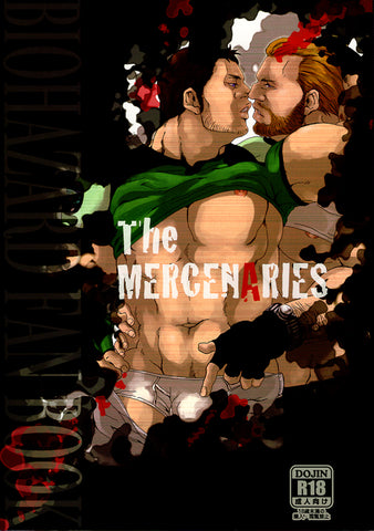 Resident Evil Doujinshi - The MERCENARIES (Chris x Barry) - Cherden's Doujinshi Shop - 1