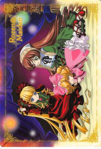 Rozen Maiden Pencil Board - Movic B5 Shitajiki Shinku Suiseiseki and Hinaichigo (Shinku) - Cherden's Doujinshi Shop - 1