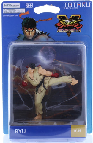 Street Fighter Figurine - ThinkGeek Totaku Otaku Collection Street Fighter V Arcade Edition N 24: Ryu (First Edition) (Ryu (Street Fighter)) - Cherden's Doujinshi Shop - 1