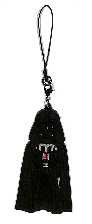 Star Wars Strap - Ichiban Kuji World Collectible Figure J Prize: Darth Vader Rubber Strap (Darth Vader) - Cherden's Doujinshi Shop - 1