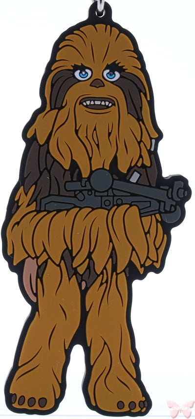 Star Wars Strap - Star Wars Edition Ichiban Kuji J Prize World Collectible Figure Rubber Strap: Chewbacca (Chewie) (Chewbacca) - Cherden's Doujinshi Shop - 1