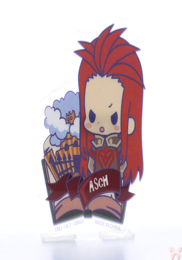 Tales of the Abyss Pin - Tales of Friends Vol.2 Clear Brooch Collection: Asch (Asch) - Cherden's Doujinshi Shop  - 1
