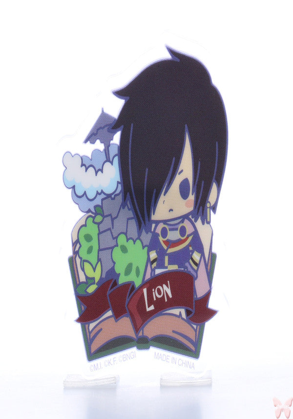 Tales of Destiny Pin - Tales of Friends Vol.2 Clear Brooch Collection: Leon Magnus (Leon) - Cherden's Doujinshi Shop  - 1