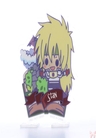 Tales of Destiny Pin - Tales of Friends Vol.2 Clear Brooch Collection: Stahn Aileron (Stahn) - Cherden's Doujinshi Shop  - 1