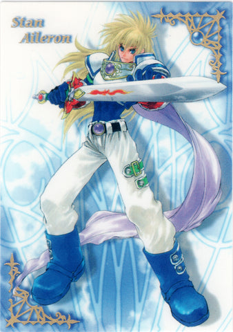 Tales of Destiny Trading Card - Special Card - 1 (FOIL) Stan Aileron Frontier Works (Stahn Aileron) - Cherden's Doujinshi Shop - 1