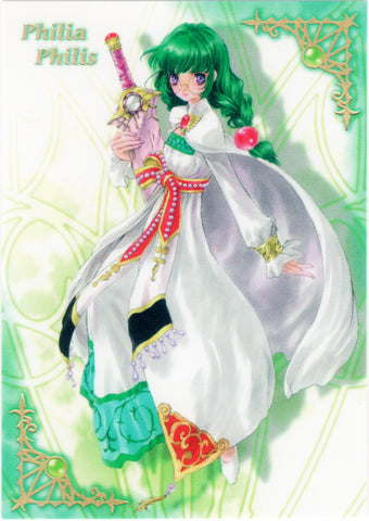 Tales of Destiny Trading Card - Special Card - 4 (FOIL) Philia Philis Frontier Works (Philia Felice) - Cherden's Doujinshi Shop - 1