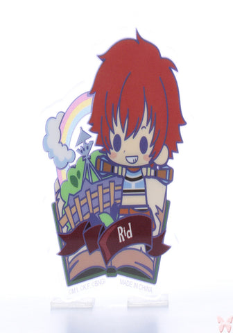 Tales of Eternia Pin - Tales of Friends Vol.2 Clear Brooch Collection: Reid Hershel (Reid) - Cherden's Doujinshi Shop  - 1
