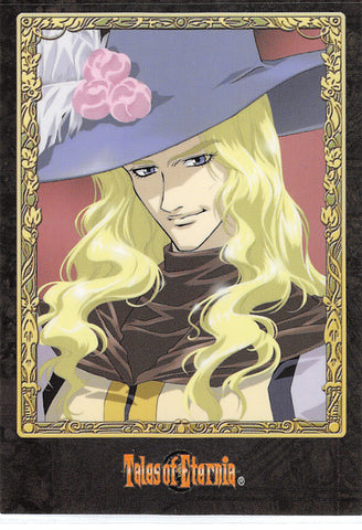 Tales of Eternia Trading Card - No.71 F Normal Media Factory Movie Card Type B Rassius Luine (Rassius Luine) - Cherden's Doujinshi Shop - 1