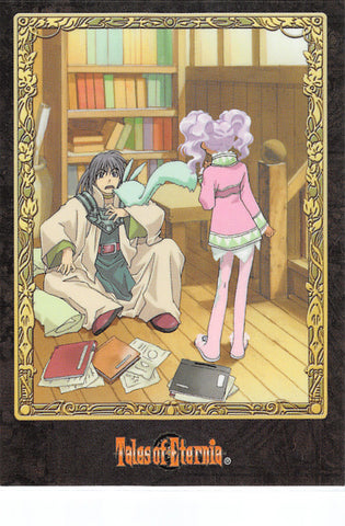 Tales of Eternia Trading Card - No.76 F Normal Media Factory Movie Card Type B Keele Zeibel / Meredy (Keele Zeibel) - Cherden's Doujinshi Shop - 1