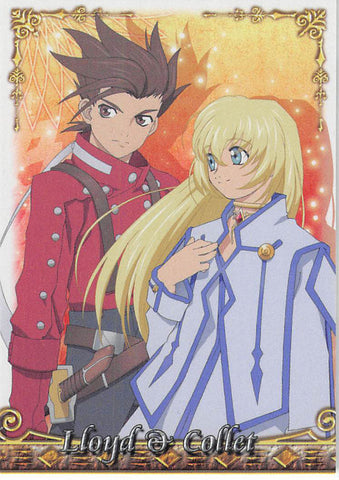 Tales of Symphonia 2 Trading Card - No.21 Normal Frontier Works Lloyd & Collet (Lloyd Irving x Colette Brunel) - Cherden's Doujinshi Shop - 1