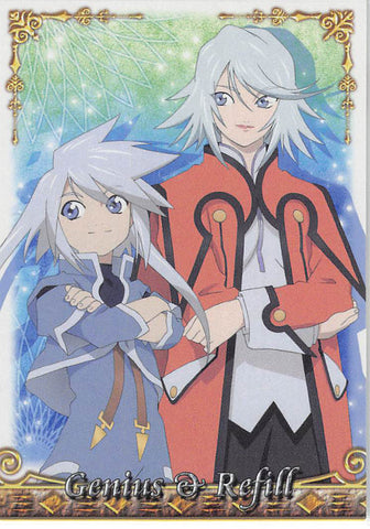 Tales of Symphonia 2 Trading Card - No.22 Normal Frontier Works Genius & Refill (Genis Sage) - Cherden's Doujinshi Shop - 1