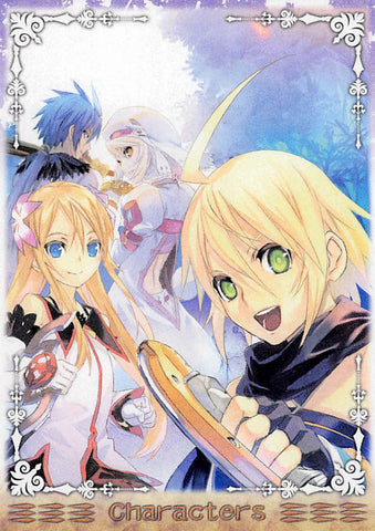 Tales of Symphonia 2 Trading Card - Frontier Works Knight of Ratatosk Character Card No.29 (Emil) - Cherden's Doujinshi Shop - 1
