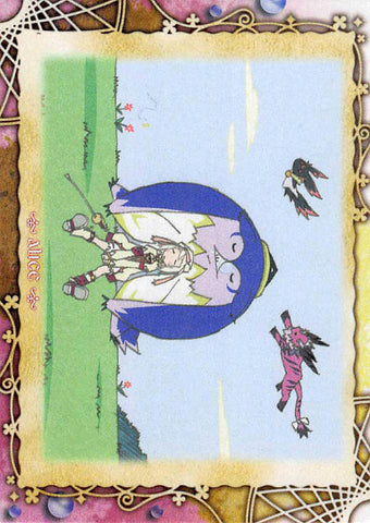 Tales of Symphonia 2 Trading Card - Frontier Works Knight of Ratatosk Trading Card Ending Card No.35 (Alice) - Cherden's Doujinshi Shop - 1