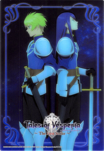 Tales of Vesperia Clear Plate - Tales of Vesperia Jumbo Carddass Ex Clear Plate Collection #15 Yuri and Flynn (The First Strike Version) (Yuri) - Cherden's Doujinshi Shop - 1