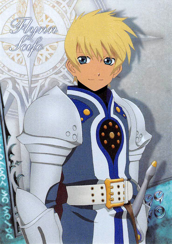 Tales of Vesperia Trading Card - No.08 Character Card - 8 Flynn Scifo Frontier Works (Flynn) - Cherden's Doujinshi Shop - 1