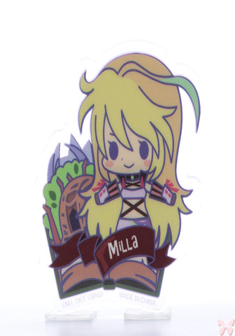 Tales of Xillia Pin - Tales of Friends Vol.2 Clear Brooch Collection: Milla Maxwell (Milla) - Cherden's Doujinshi Shop  - 1
