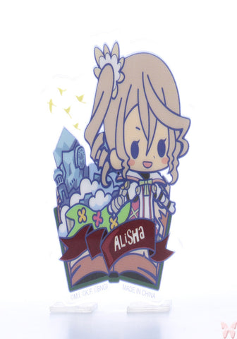 Tales of Zestiria Pin - Tales of Friends Vol.2 Clear Brooch Collection: Alisha (Alisha) - Cherden's Doujinshi Shop  - 1