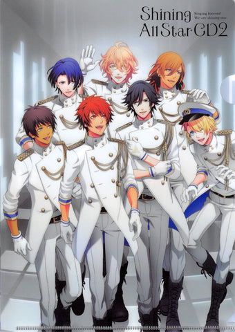Uta no Prince-sama Clear File - Shining All Star CD2 Bonus A5 Clear File (Otoya) - Cherden's Doujinshi Shop - 1
