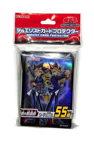 YuGiOh! Duel Monsters Trading Card Sleeve - Duelist Card Protector CG1531 Yugi and Yami Yugi (Yugi) - Cherden's Doujinshi Shop - 1