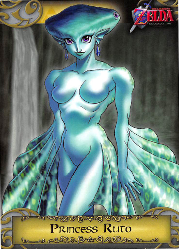 Legend of Zelda Trading Card - 5 Princess Ruto (Ocarina of Time) (Princess Ruto) - Cherden's Doujinshi Shop - 1