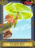 Legend of Zelda Trading Card - 84 Tornado Rod (A Link Between Worlds) (Tornado Rod) - Cherden's Doujinshi Shop - 1