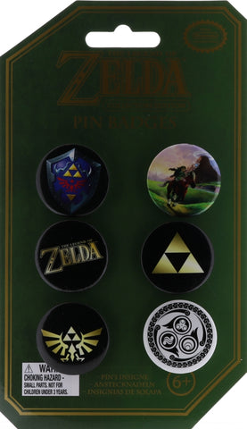 Legend of Zelda Pin - Collectors Edition Pin Badges (Link) - Cherden's Doujinshi Shop - 1