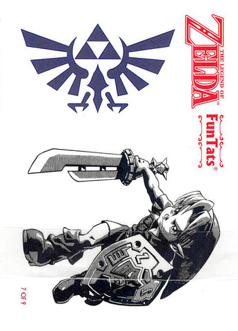Legend of Zelda Tattoo - FunTats Tattoo 7 of 9 Link and Hyrule Crest (Link) - Cherden's Doujinshi Shop - 1