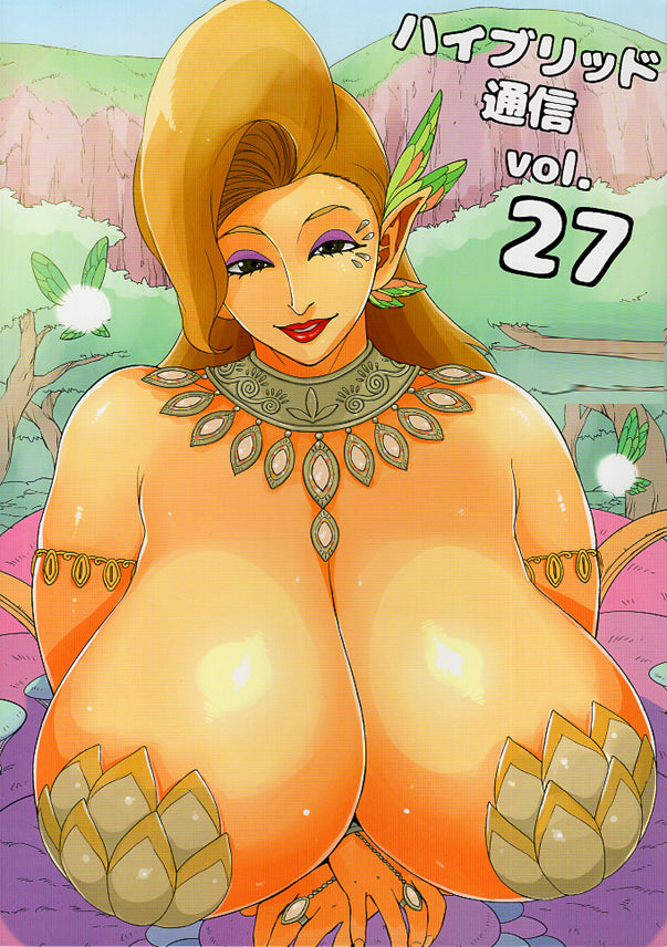 Legend of Zelda Doujinshi - Hybrid Communication Vol. 27 (Cotera x Link) - Cherden's Doujinshi Shop - 1