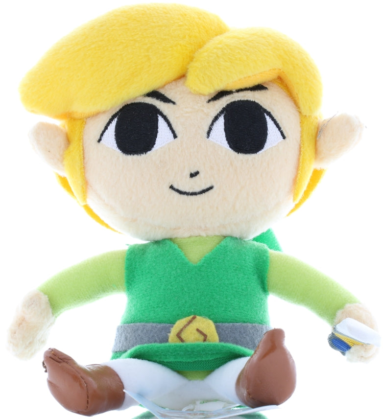 Legend of Zelda Plush - Phantom Hourglass Link (S Size) Plushie (Link (Legend of Zelda)) - Cherden's Doujinshi Shop - 1