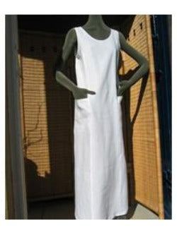 ladies linen sundress with pockets