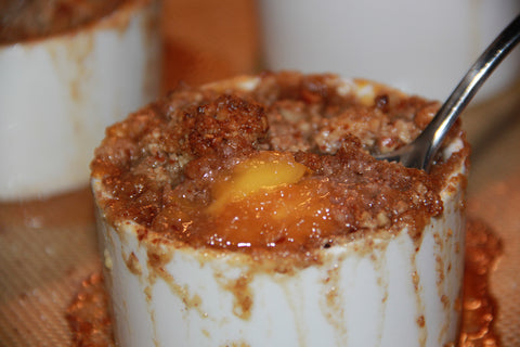 Free-To-Eat Peach Cobbler