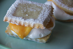Lemon Fluff Cookies