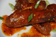 Sticky Duck Wings