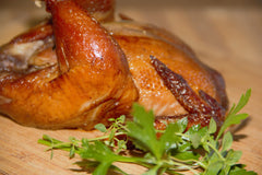 Tea Brined Bird